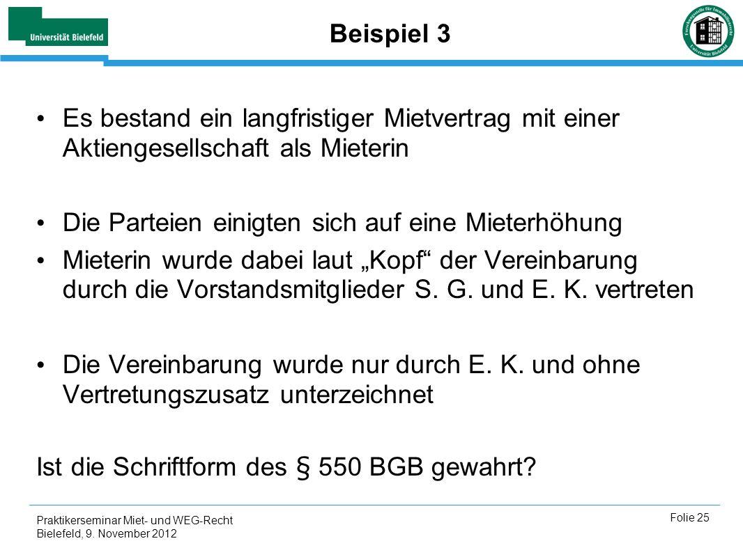 Praktikerseminar Miet Und Weg Recht Ppt Herunterladen