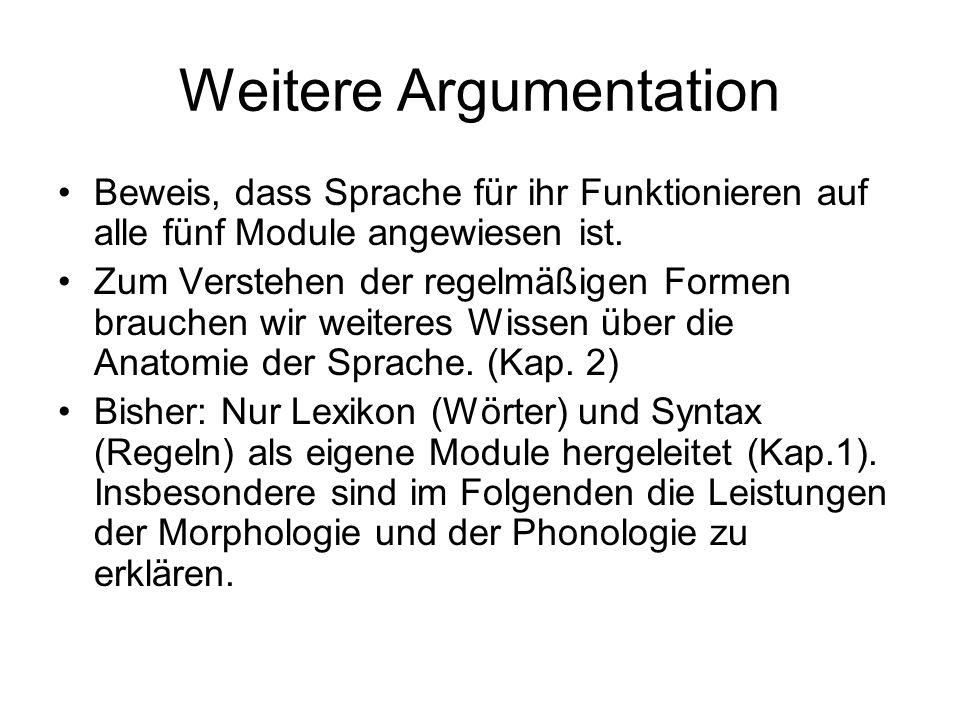 Einführung in die Sprachvermittlung 3. Die Module der Sprache - ppt ...