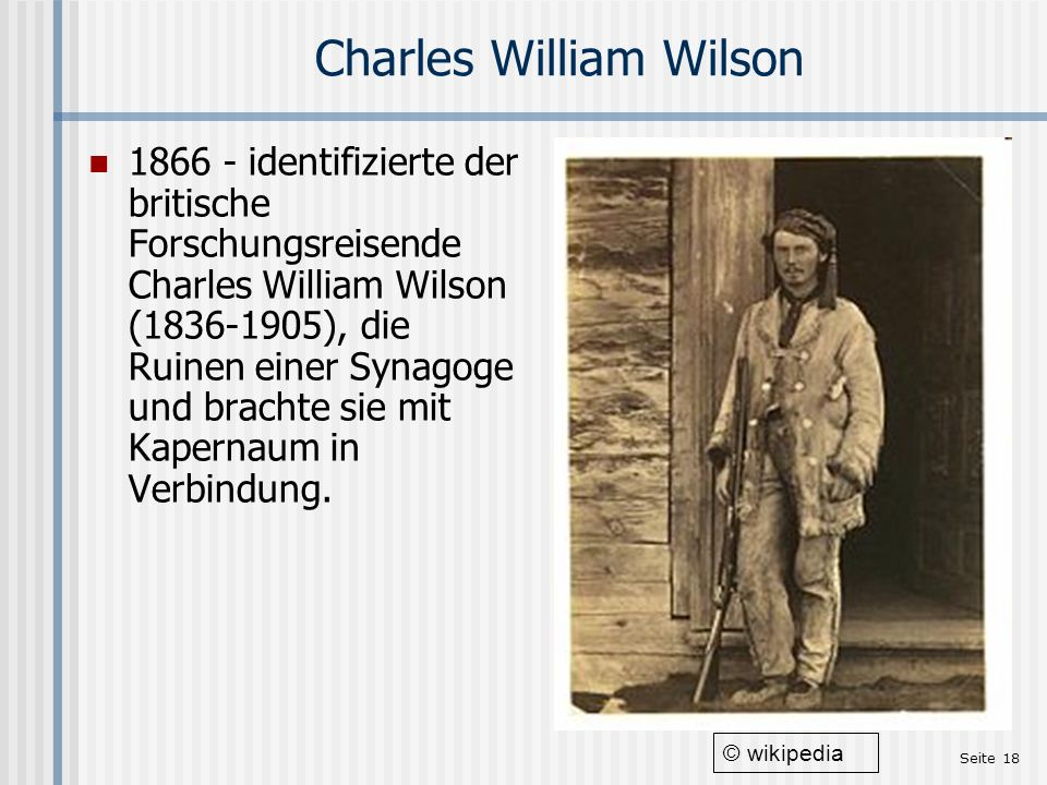 Charles William Wilson
