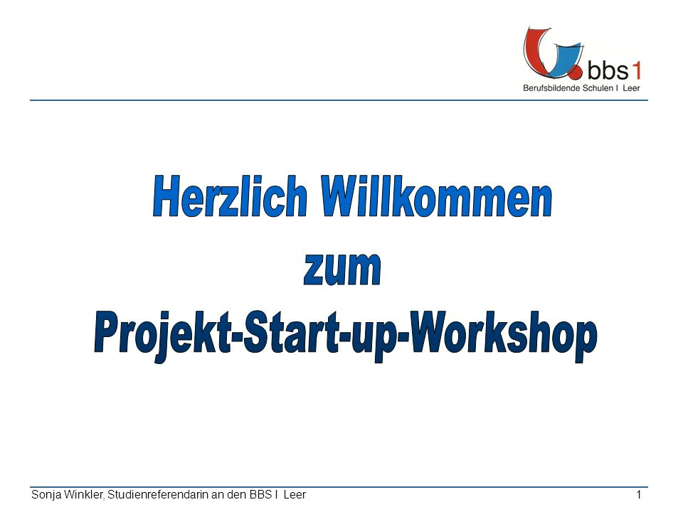 Projekt-Start-up-Workshop