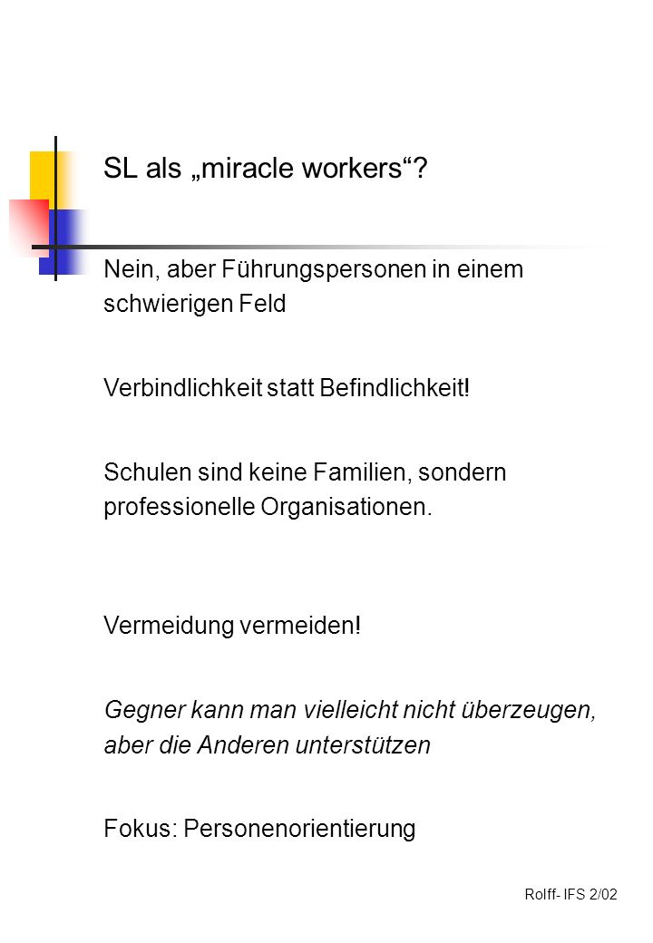 "SL als ""miracle workers"