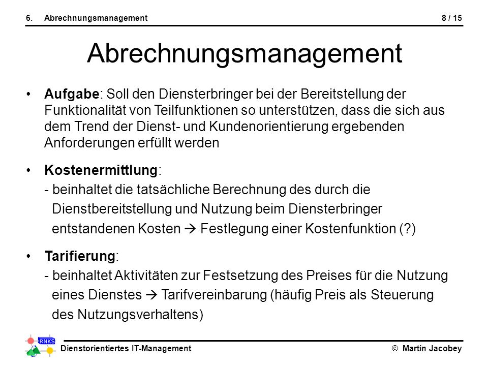 Abrechnungsmanagement