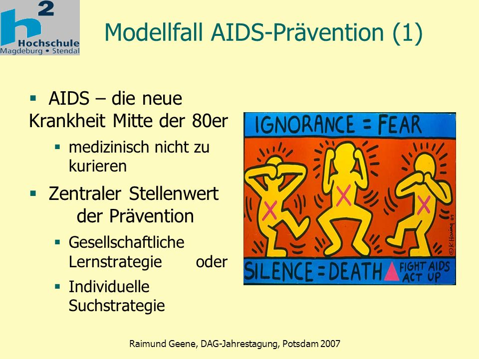 Modellfall AIDS-Prävention (1)