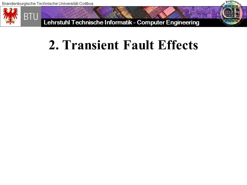 2. Transient Fault Effects