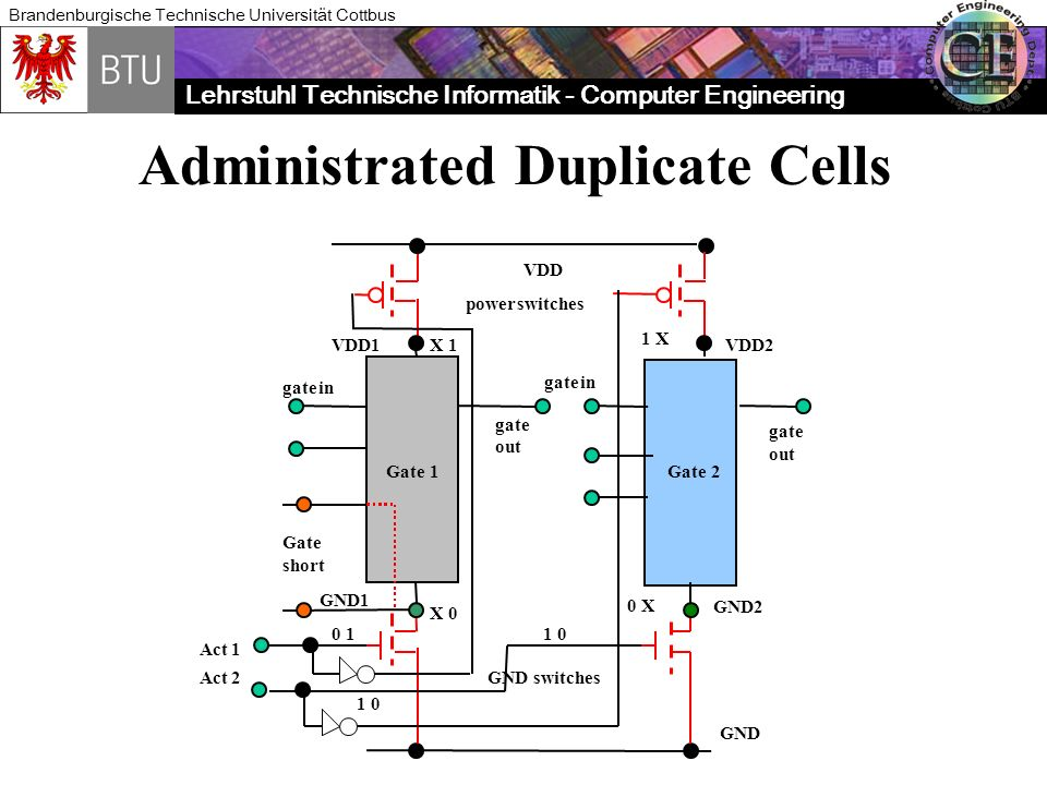 Administrated Duplicate Cells