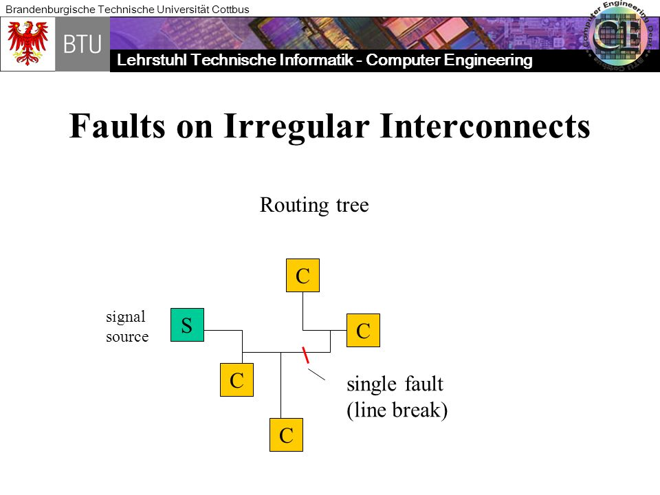 Faults on Irregular Interconnects