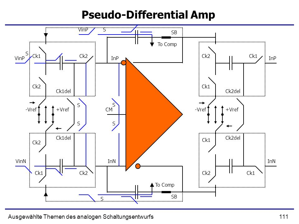 Pseudo-Differential Amp