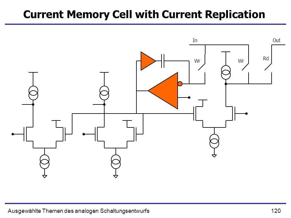 Current Memory Cell with Current Replication