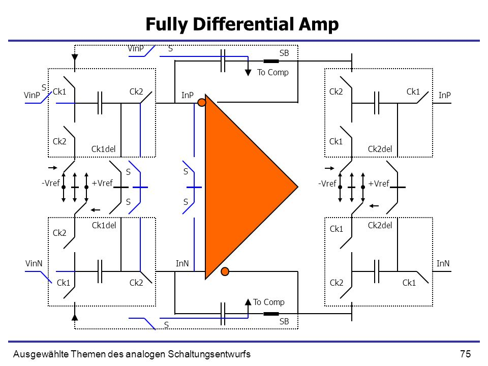 Fully Differential Amp