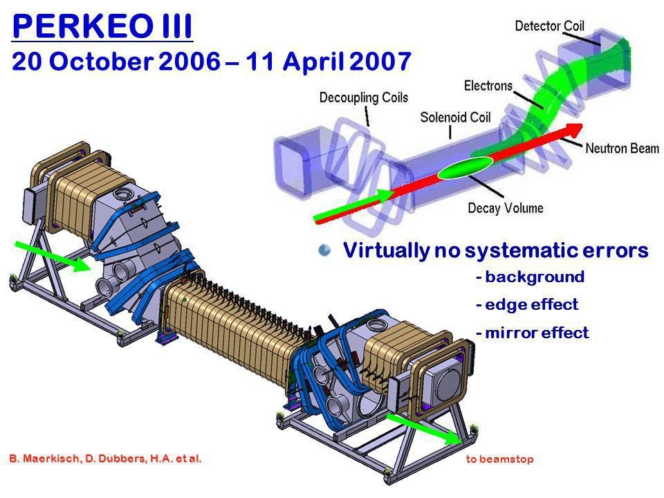 PERKEO III 20 October 2006 – 11 April 2007