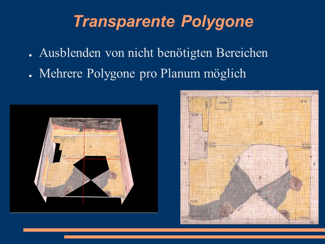 Transparente Polygone