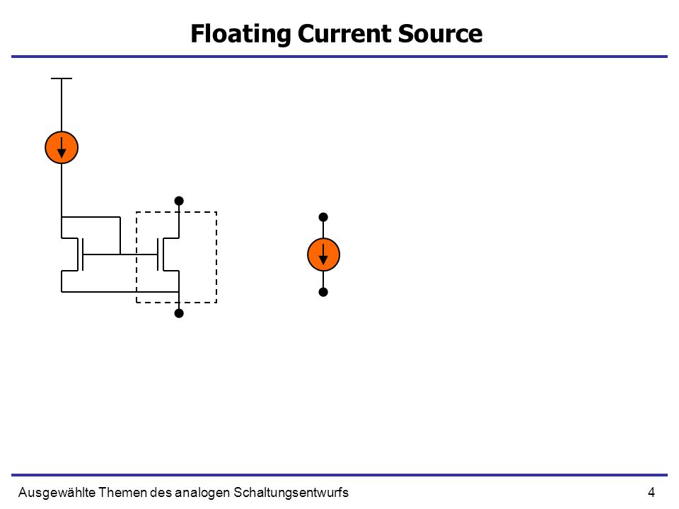 Floating Current Source