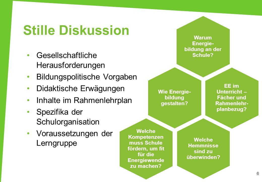 Erneuerbare Energien in der Lehrerbildung verankern! - ppt herunterladen