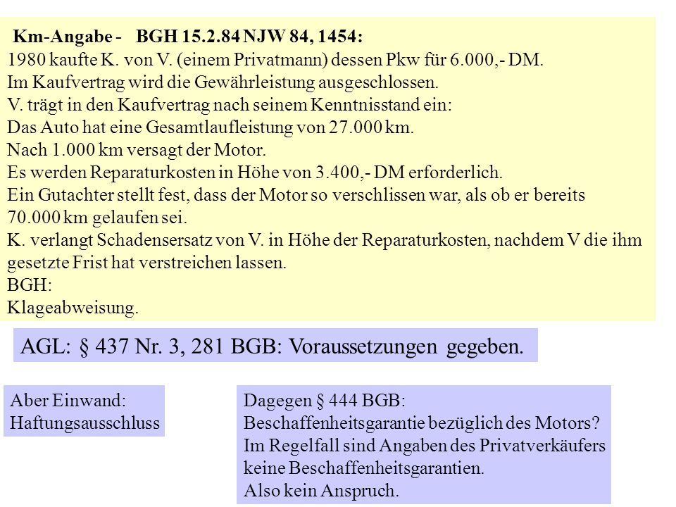 Sozialtypischer Vertrag Gebrauchtwagen Und Neuwagenkauf Ppt