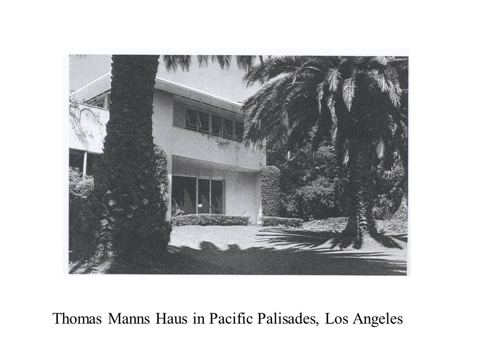 Thomas Manns Haus in Pacific Palisades, Los Angeles