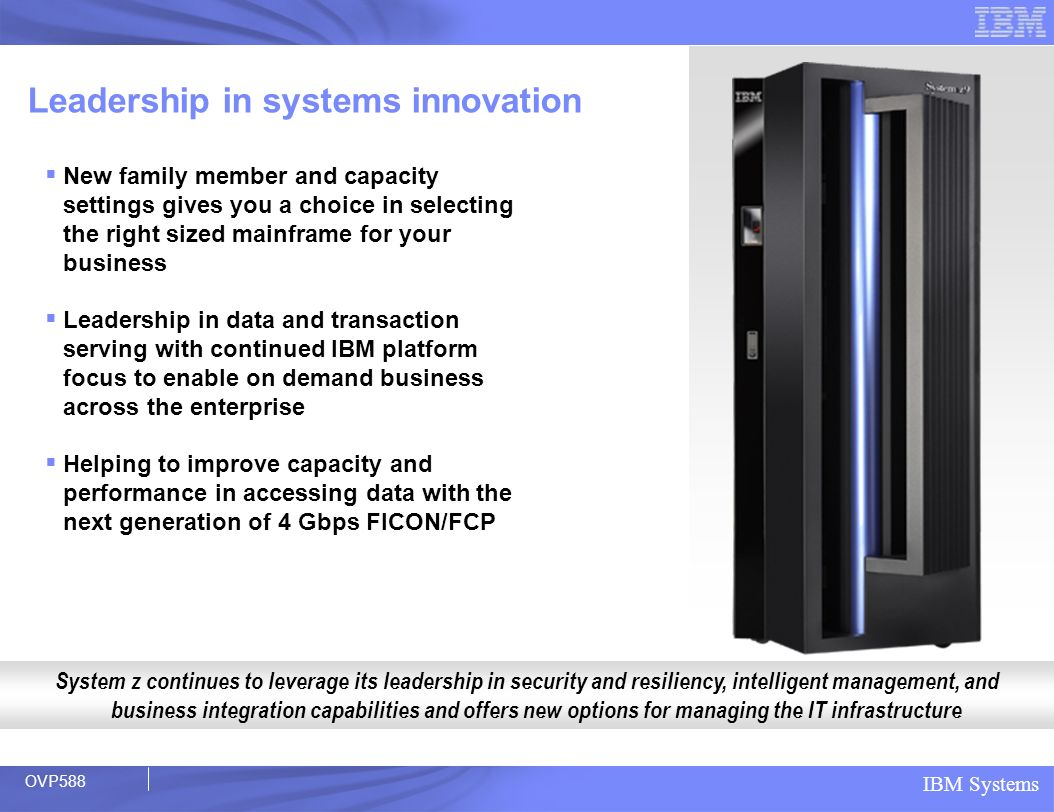 Leadership in systems innovation