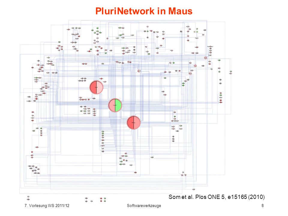 PluriNetwork in Maus Som et al. Plos ONE 5, e15165 (2010)