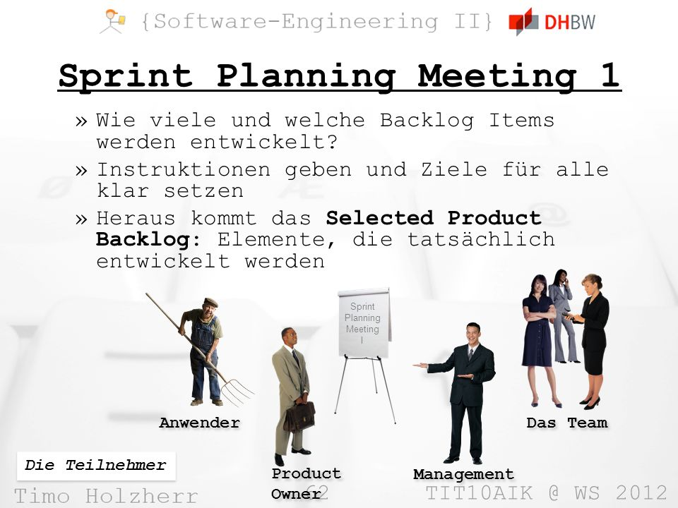 Sprint Planning Meeting 1