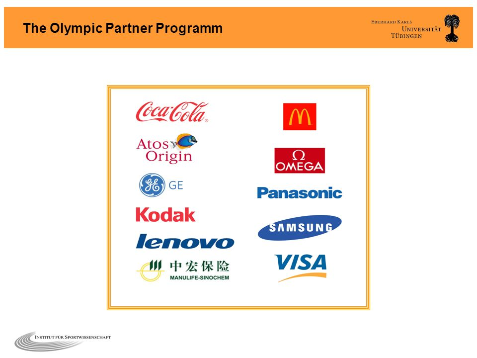The Olympic Partner Programm