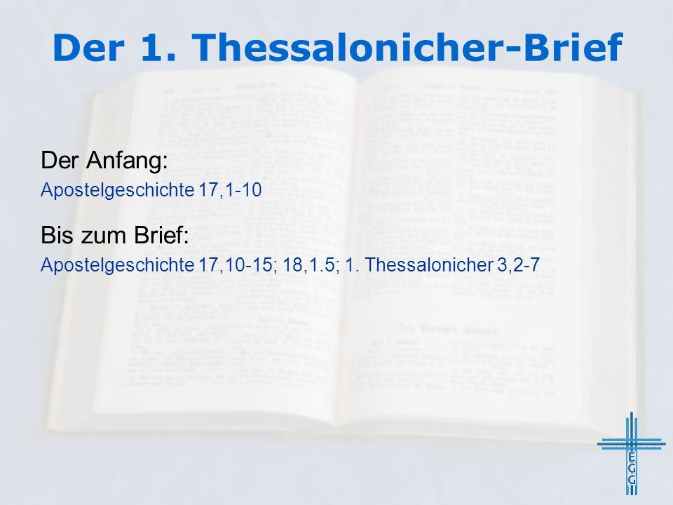 Der 1. Thessalonicher-Brief