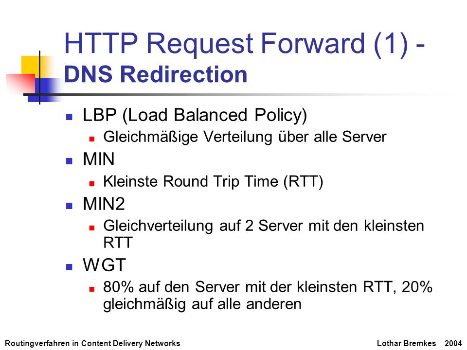HTTP Request Forward (1) -DNS Redirection