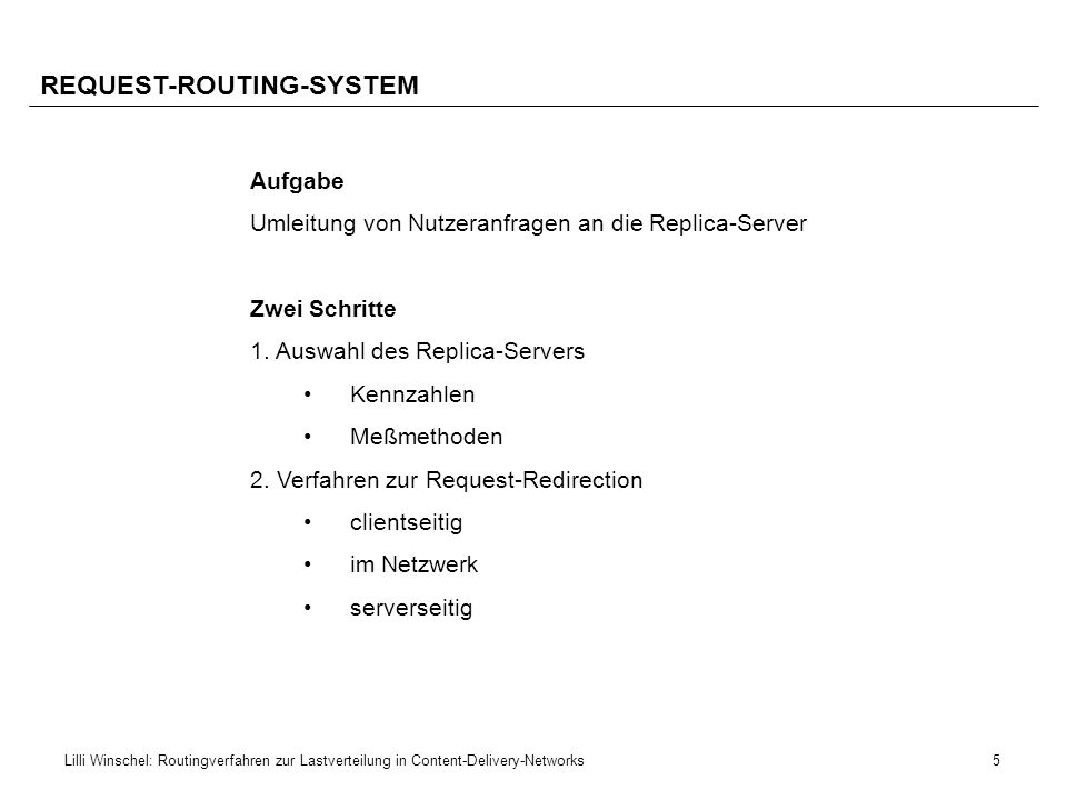 REQUEST-ROUTING-SYSTEM
