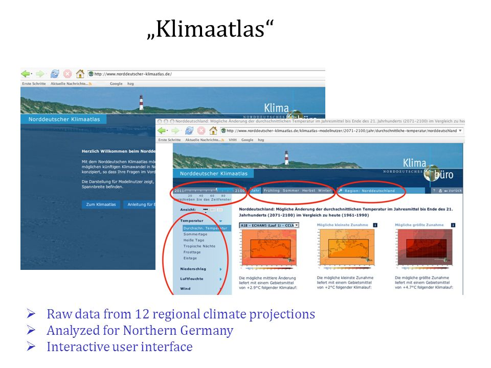"""Klimaatlas Raw data from 12 regional climate projections"