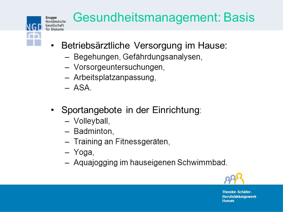 Gesundheitsmanagement: Basis