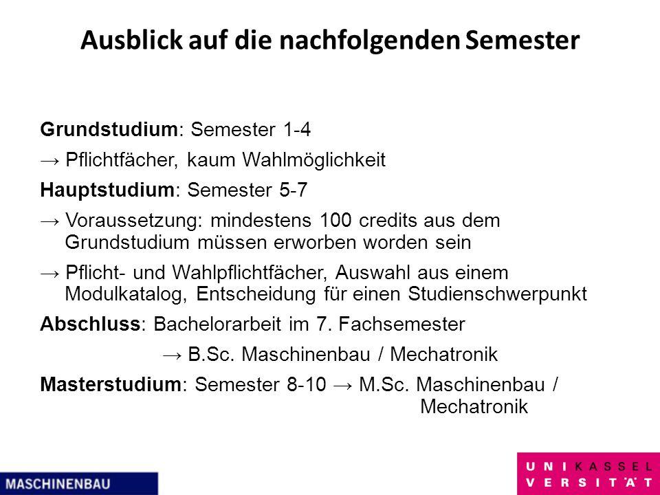 Einführung In Den Bsc Studiengang Maschinenbau Ppt Herunterladen