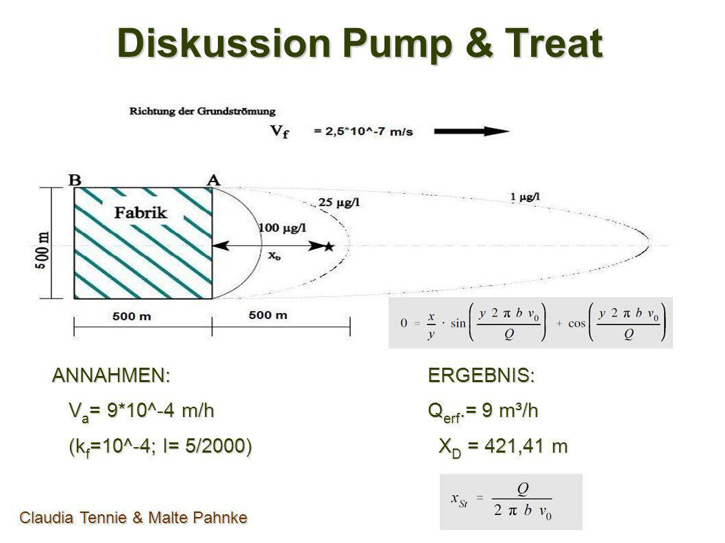 Diskussion Pump & Treat