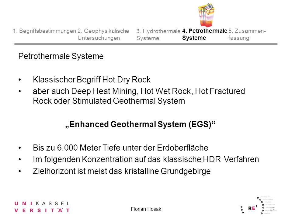 """Enhanced Geothermal System (EGS)"