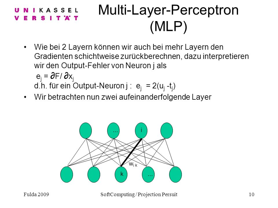 Multi-Layer-Perceptron (MLP)