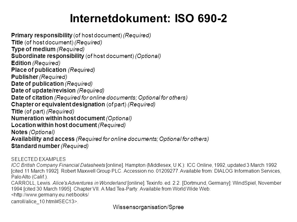Internetdokument: ISO 690-2