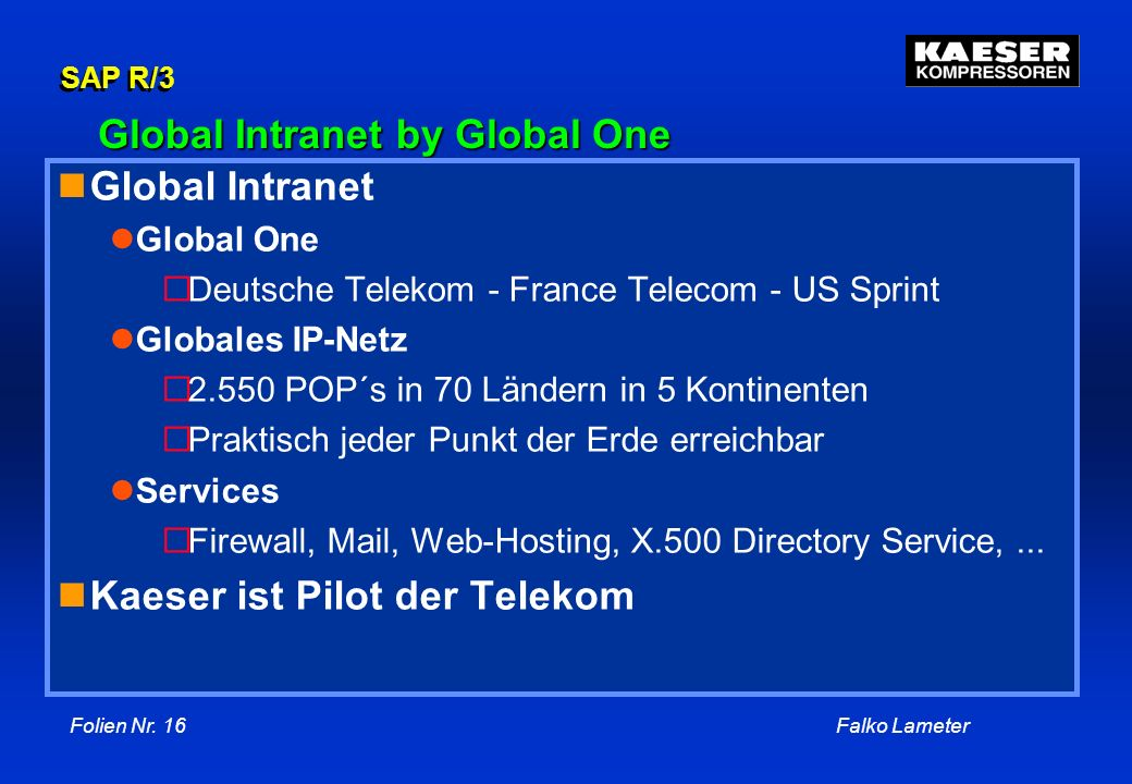 Global Intranet by Global One
