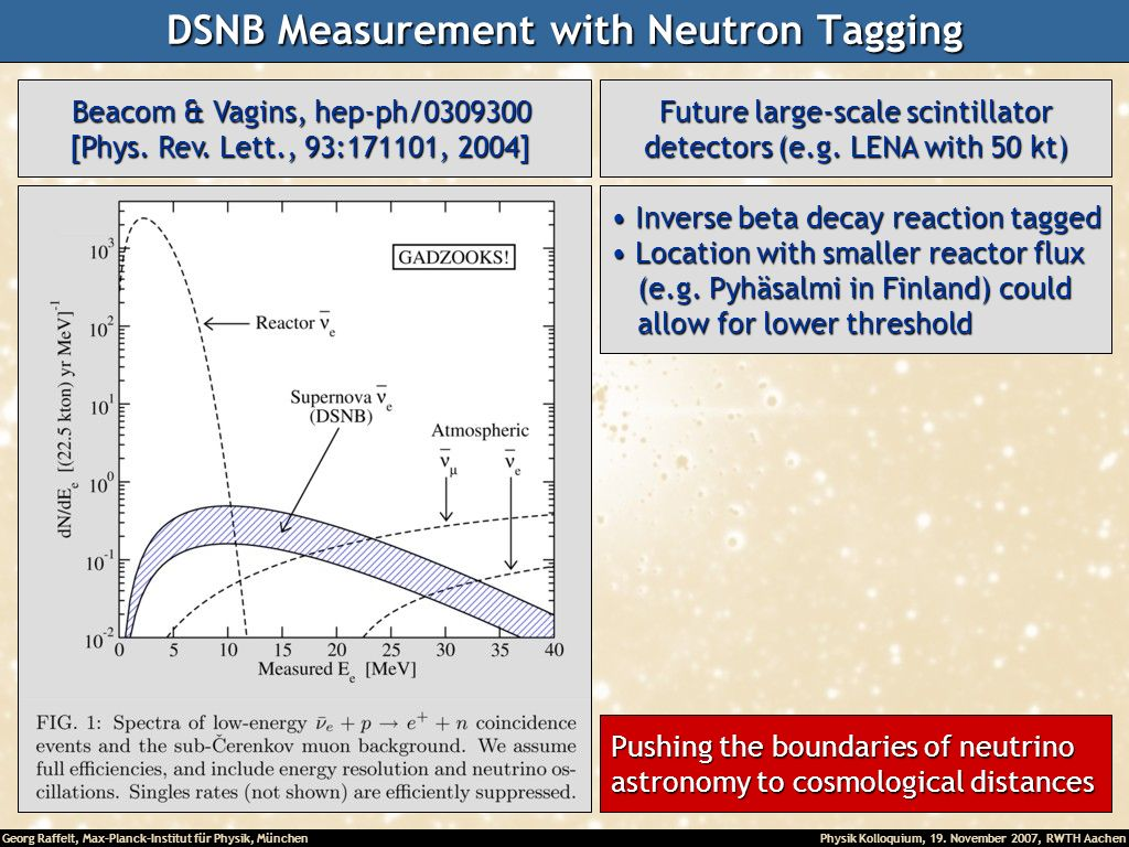 DSNB Measurement with Neutron Tagging