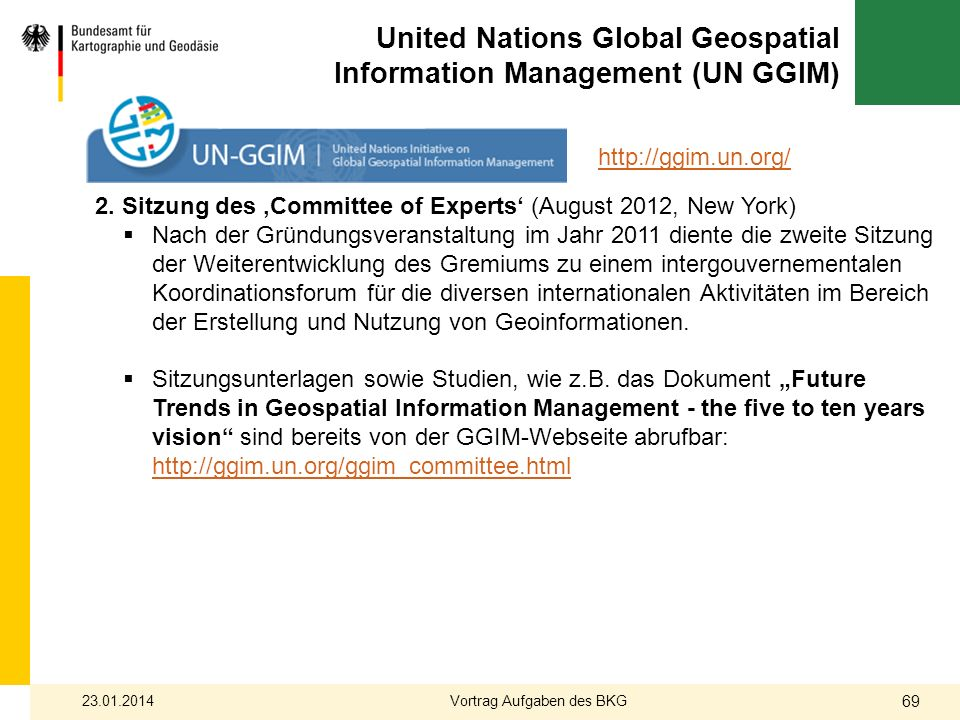 United Nations Global Geospatial Information Management (UN GGIM)