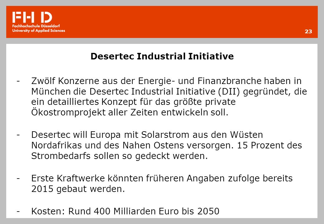 Desertec Industrial Initiative