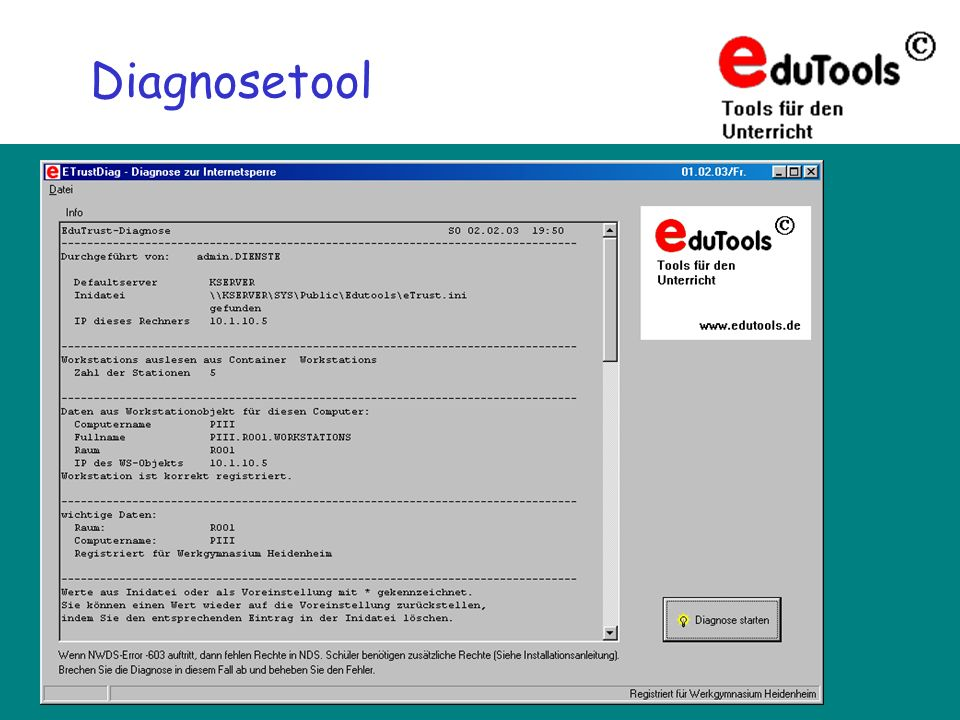 Diagnosetool
