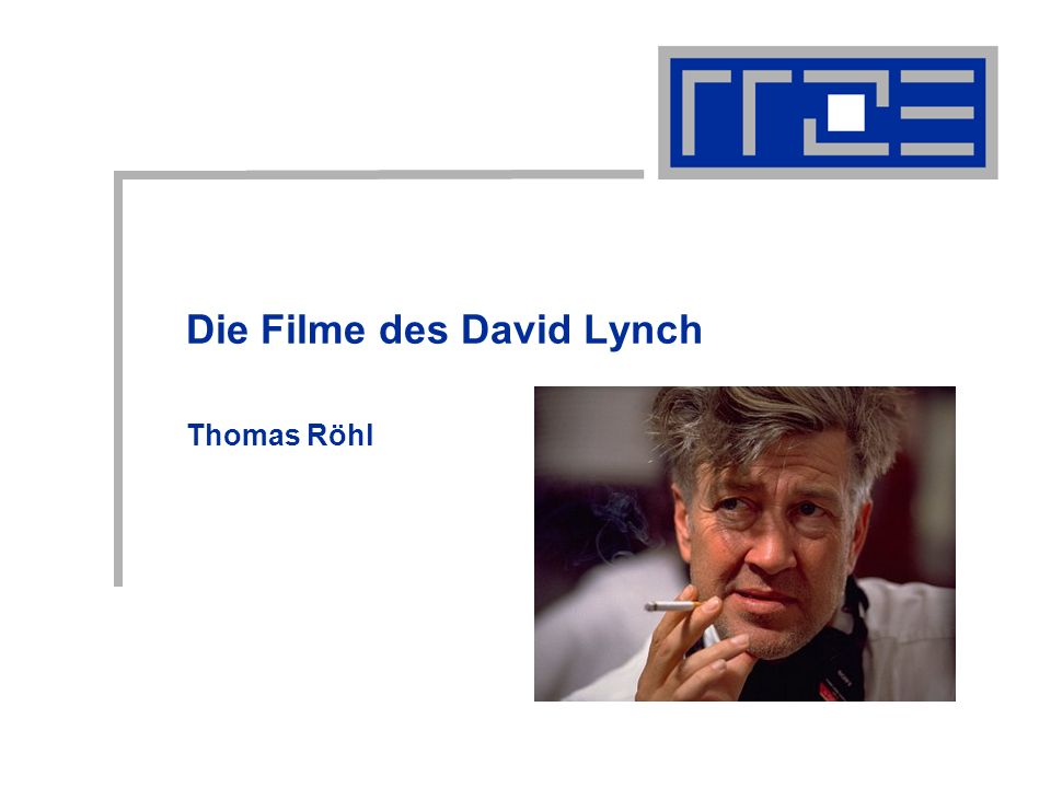 Die Filme des David Lynch