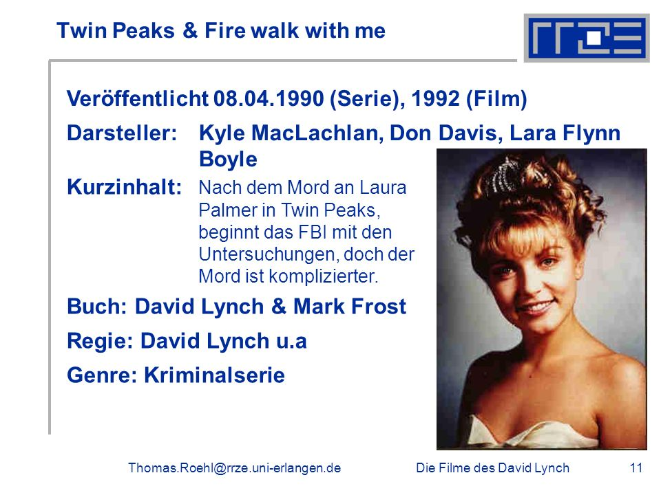 Twin Peaks & Fire walk with me