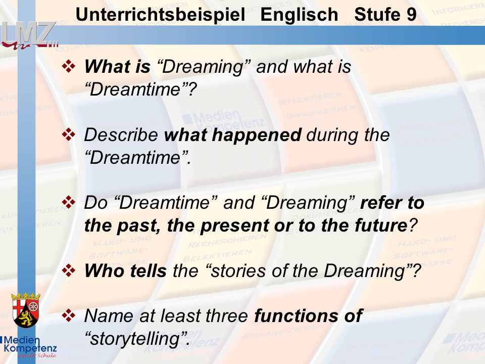 What is Dreaming and what is Dreamtime