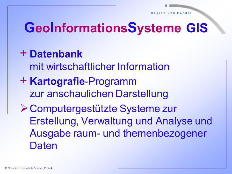GeoInformationsSysteme GIS