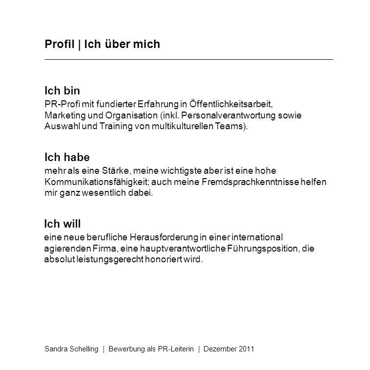 10 profil - Bewerbung Fuhrungsposition