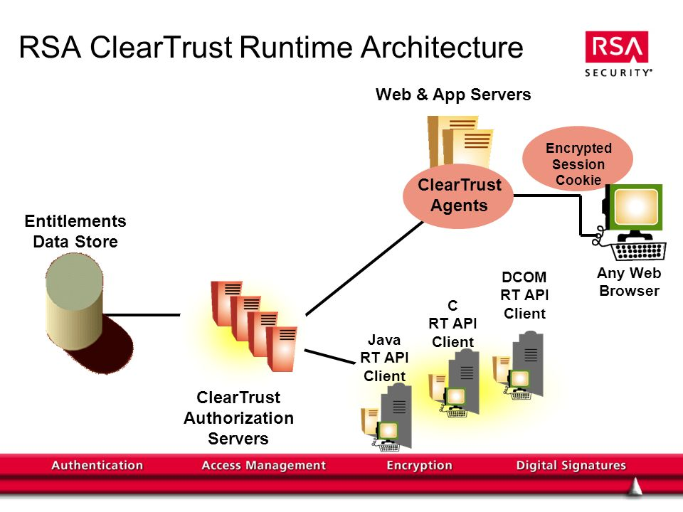 RSA ClearTrust Runtime Architecture