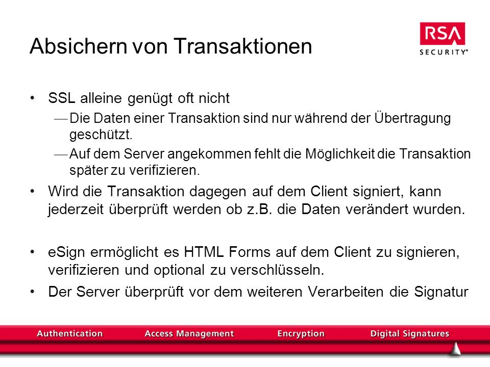 Authentisierung und Rechte-Management in modernen IT Systemen - ppt ...