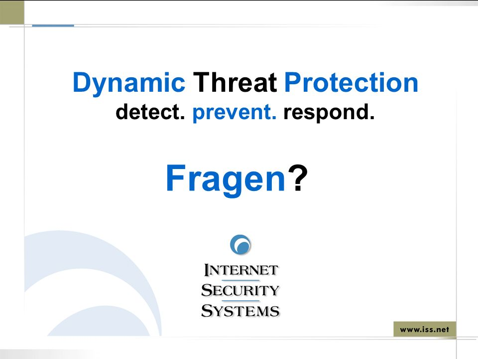 Dynamic Threat Protection detect. prevent. respond.