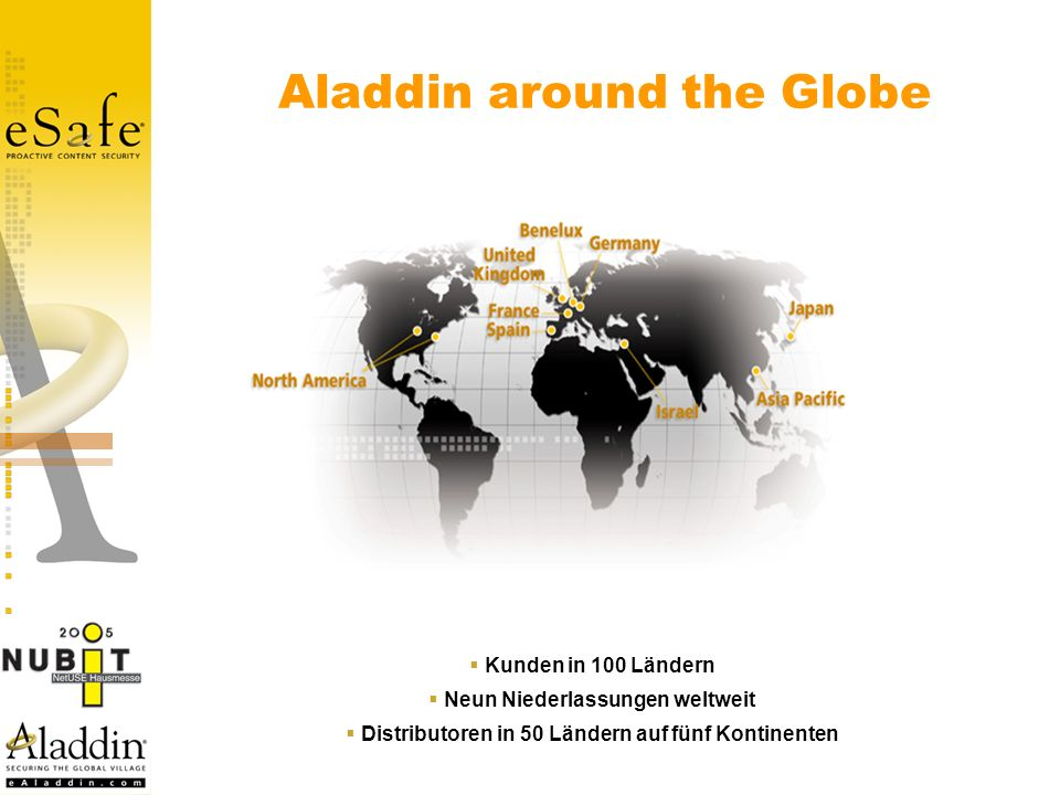 Aladdin around the Globe