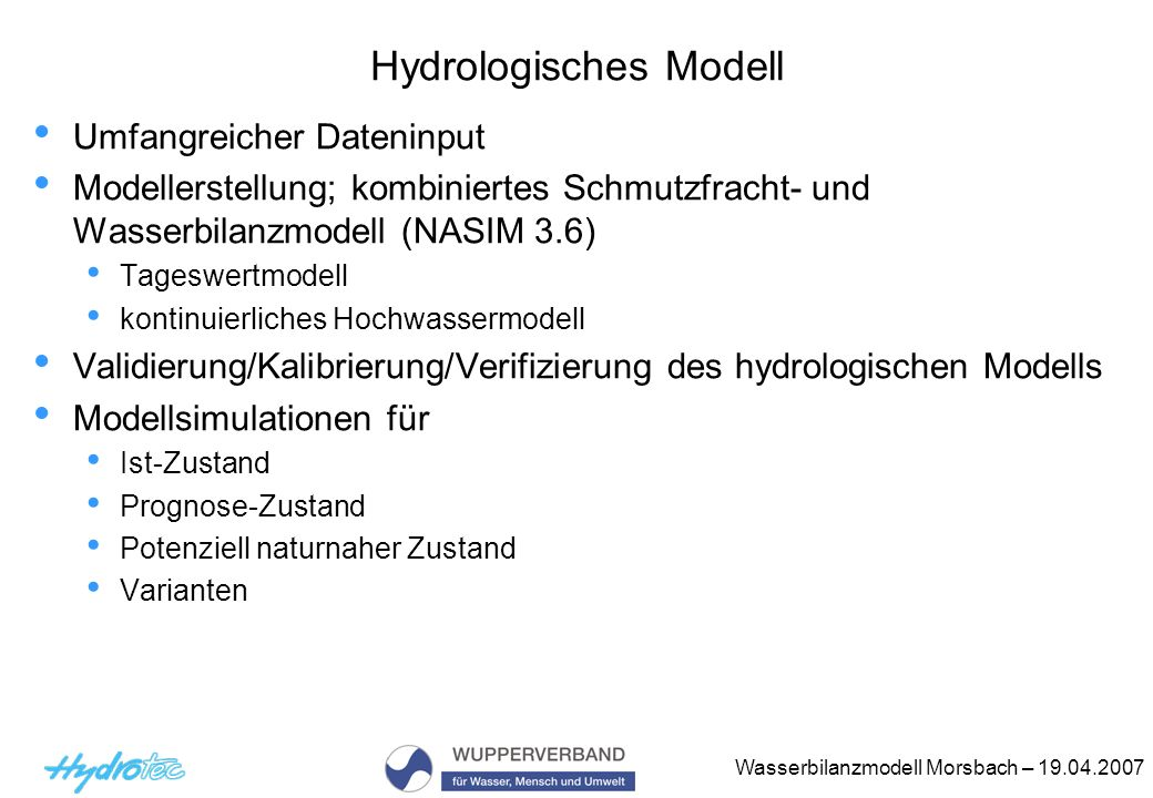 Hydrologisches Modell
