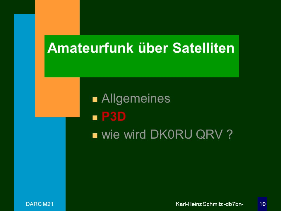 Amateurfunk über Satelliten