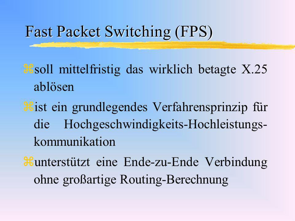 Fast Packet Switching (FPS)